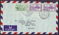 d4853/ New Hebrides Airmail Cover t/England 1962