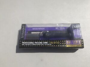 Hot Tools Professional 24k Gold Pressing & Styling Comb! New In Open Box!