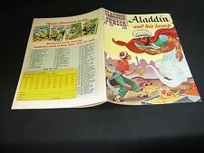 Classics Illustrated Junior #516 ALADDIN and HIS LAMP (ed.7) (HRN 576) VF  Sp/69