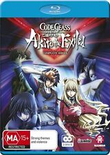 Code Geass: Akito the Exiled Complete Series - Layla Malkal NEW B Region Blu Ray