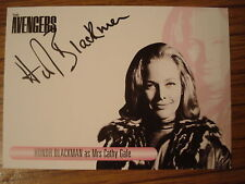 THE WOMEN OF THE AVENGERS: AUTOGRAPH CARD: HONOR BLACKMAN AS MRS CATHY GALE