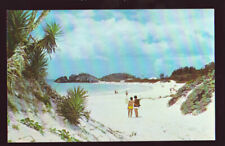 FOREIGN Bermuda Horseshoe Bay Pink Touched Sand Beach  postcard