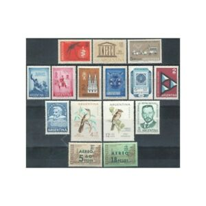 ARGENTINA - 1962 COMPLETE YEAR -MNH
