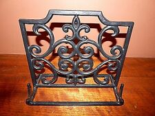 Wrought Iron Desk Top Music Stand. Large enough to safely hold large music books