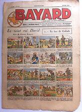 BAYARD n°78 du 27/06/1937; Le Saint roi David - En face de Goliath
