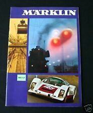 D899 RARE CATALOGUE TRAIN MARKLIN 1969  64 pag Etat nf