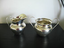 Watson Co Sterling Silver Cream and Sugar