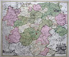 c1710 THURINGIA Erfurt GERMANY * SCHENK 48x58cm ORIG