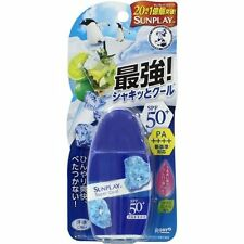 ROHTO Mentholatum SUNPLAY Super Cool SUNSCREEN Milk Japan 30g SPF50+ PA++++