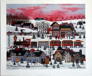 """Wooster Scott """"Whistle Stop At Ashfield Junction"""" SN CA """"SNOW"""""""