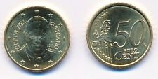 Vatikan 2015 Euro-Kursmünze 50 Cent Papst Franziskus unz.-bankfrisch