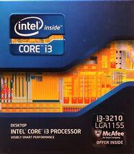 Intel BX80637I33210 SR0YY i3-3210 Processor 3MCache, 3.20 GHz New Retail Box