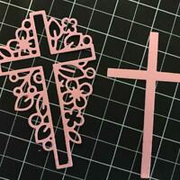 Cross Metal Cutting Die Stencils DIY Scraps Booking Decorative Embossing K7V6