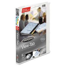 "Wilson Jones View-Tab Presentation Round Ring View Binder W/tabs 5/8""  12/Case"