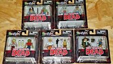MINIMATES Walking Dead LOT of 5 Exclusive Action Figure 2 packs DIAMOND SELECT