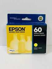 Genuine Epson 60 Yellow Ink C68 88 CX3800 3810 4200 4800 5800F 7800 T060420