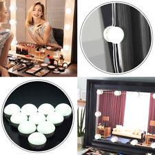 USB Hollywood Style LED Makeup Vanity Mirror Lights Kit 10 Dimmable Light Bulbs