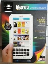 "The Sharper Image ""Literati"" Wireless E-Reader Wi-Fi Enabled Full Color Screen"