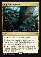 Mtg ALLY ENCAMPMENT Battle for Zendikar rare  Magic the Gathering card