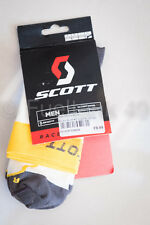 Scott RC Blanco Claro Amarillo Calcetines XL 47-50