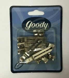 Goody Vintage 1999 Curl Clips - Package of 12