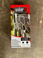 """Case Lot of 6 Weber BBQ Grill Tool Holder 7401 18.5 and 22.5"""" Charcoal Grills NR"""