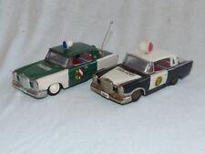 Ichiko Mercedes W111 W110 60er Jahre Blech Auto Spielzeug Japan Tin Toy 2 Stück