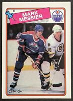 Mark Messier 1988 O-Pee-Chee #93 Excellent Card! HOF!