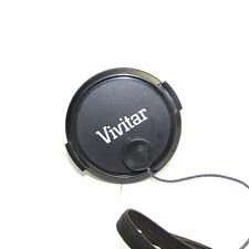 Used Vivitar 52mm Lens Front Cap with string attached  S211556