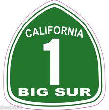 Big Sur California 1 Hwy Sticker Decal **FREE SHIPPING IN U.S.*