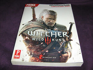 The Witcher 3 Wild Hunt Prima Official Game Guide Book Paperback