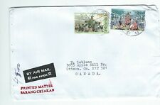 BN 13 cover with stamps from Jakarta Indonesia to Canada