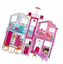 Barbie Dools House DLY32 Three-storey Townhouse Playset Girls Gift