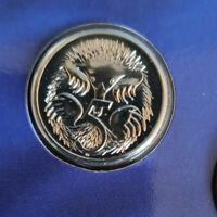 2001 Australian Five cent 5c coin - Echidna - UNC ex mint set