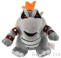 "10"" Super Mario Dry Bowser Bones Koopa Plush Doll Soft Toy Stuffed Animal 25CM"