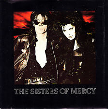 """THE SISTERS OF MERCY - THIS CORROSION+TORCH SINGLE 7"""" SPAIN PROMO 1987 EXCELLENT"""