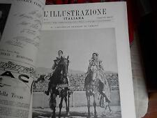 L'illustrazione italiana 1928       IL CAROSELLO STORICO DI TORINO umberto II