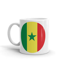 Senegal Flag Map High Quality 10oz Coffee Tea Mug #9053
