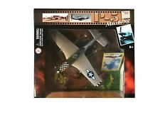 """Motor Max 1:48 Scale- Silver P-51 Mustang #76336 *DieCast* """"Big Beautiful Doll"""""""