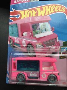Hot Wheels Barbie Dream Camper New 2021