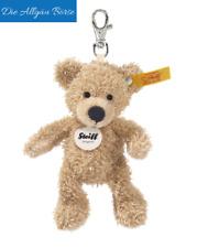 Steiff 111600 Schlüsselanhänger Teddybär Fynn 12 cm Knopf i. Ohr Bär Neu