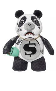 SPRAYGROUND MONEY BEAR TEDDY BEAR BACKPACK PANDA 🧸