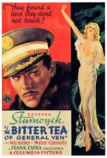 THE BITTER TEA OF GENERAL YEN Movie POSTER 27x40 Barbara Stanwyck Nils Asther