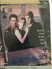 Rounders - DVD - Matt Damon - Free Post!