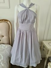 Lindy bop Ada Grey Halterneck Swing Dress New with tags size 12