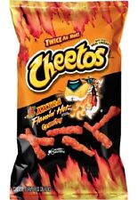 Cheetos XXtra HOT Crunchy (6 Bags) Cheddar Cheese Snack (9 Oz. Bag)