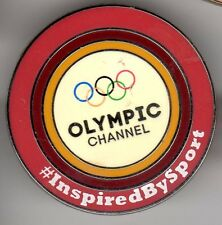 RTE SPORT OLYMPIC GAMES RIO 2016 OFFICIAL BROADCASTER OLYMPIC MEDIA PIN