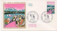 FRANCE 1972.F.D.C.1972.ANNEE DU TOURISME PEDESTRE.OBLIT:LE 15/7/72 FLORAC