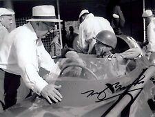 Tony Brooks Vanwall Winner Italian Grand Prix 1958 Signed Photograph 2