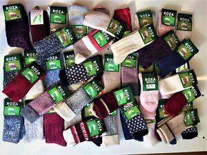 6 Pairs Women Ladies Wool Socks High Quality Cosy Long Winter Warm SocksUK ZEDGQ